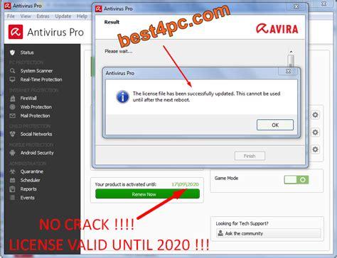 avira antivirus free download 2011 full version rar avira antivirus pro 14 0 6 570 full license expired 2020