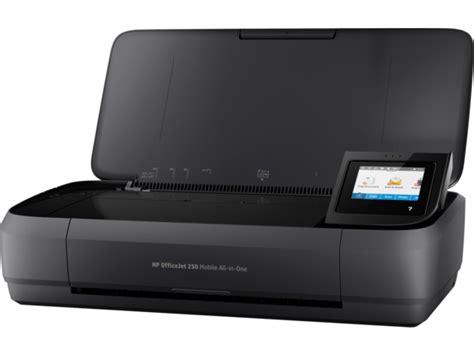 Printer Hp Officejet 250 Hp Officejet 250 Aio Mobile Printer Cz992a B1h Hp 174 Store