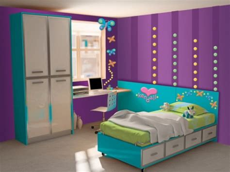 Pink Bookcases Girls Purple Bedroom Decorating Ideas Interior Design