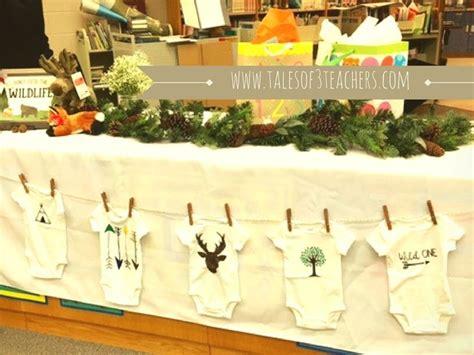 Woodland Themed Baby Shower Decorations by Best 25 Forest Baby Showers Ideas On