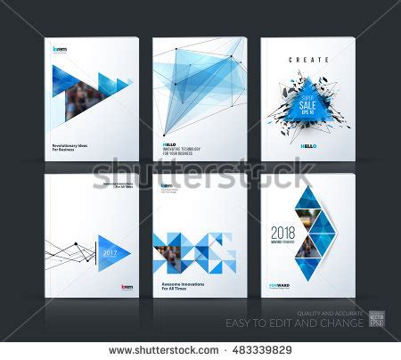 booklet layout design sles brochure template layout cover design annual stock vector