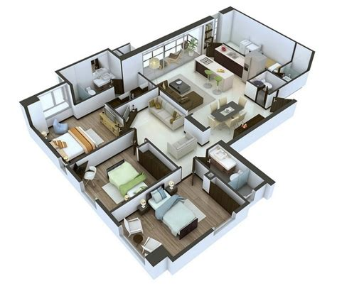 design your own home 3d free visualizing and demonstrating 3d floor plans home design
