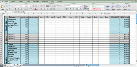 How To Create A Excel Spreadsheet For Bills Natural Buff Dog Link Building Excel Template