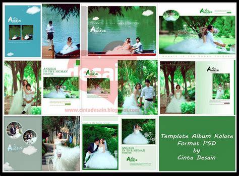 format gambar psd template album kolase format psd volume 4 album kolase