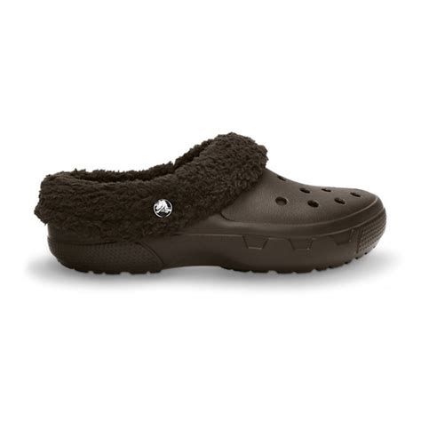 croc clogs for crocs crocs mammoth evo clog espresso p3 unisex fur
