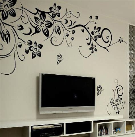 home decor sticker removable vinyl decal mural family home living room
