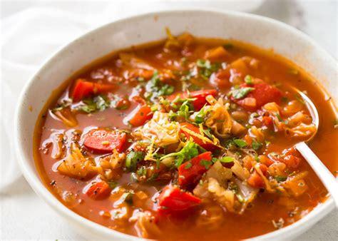 vegetables soup healthy vegetable soup tasty recipetin eats