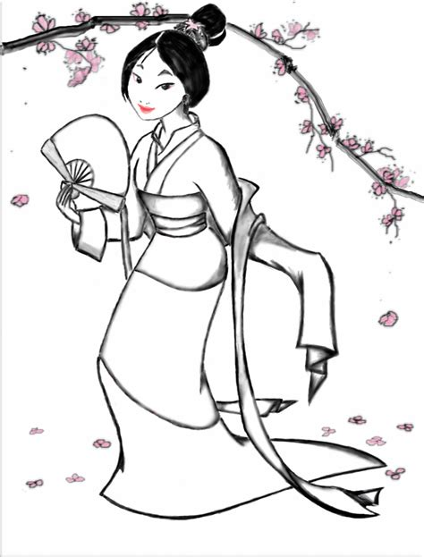 princess mulan coloring page coloring pages kids disney princess mushu mulan
