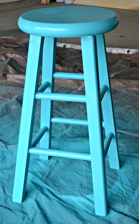 how to paint a bar stool update furniture you already own diy spray painted bar