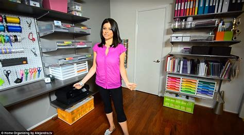 alejandra organizing alejandra costello shows off her immaculate home in a