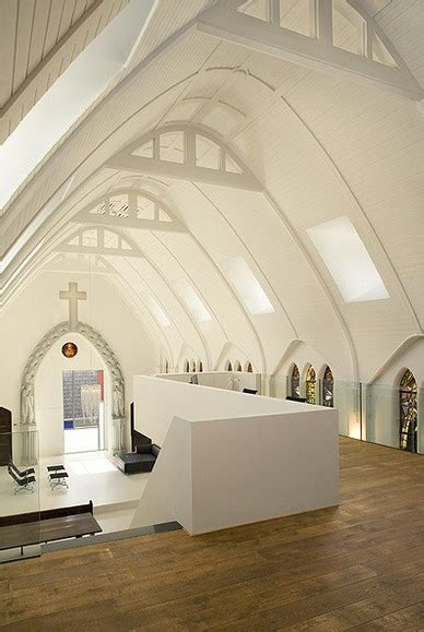a church remodelled into a residence
