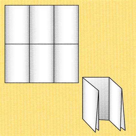 How To Fold A Paper Into A Brochure - 15 fold types for every brochure printaholic