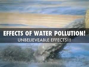 6 Effects Of More Water by Water Pollution By Jugal Vagadiya