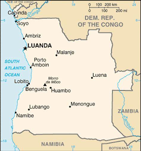 angola map angola maps