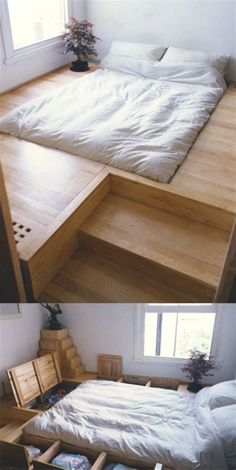 smart floor storage ideas  small space solutions