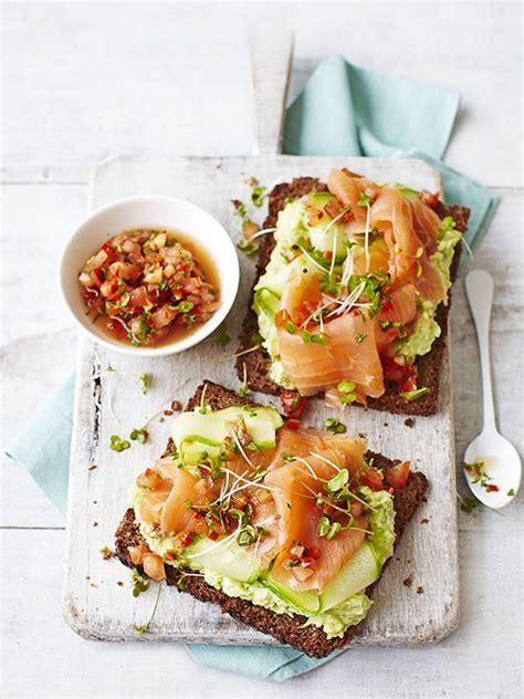 toast canapes avocado on toast with smoked salmon smoked salmon 300