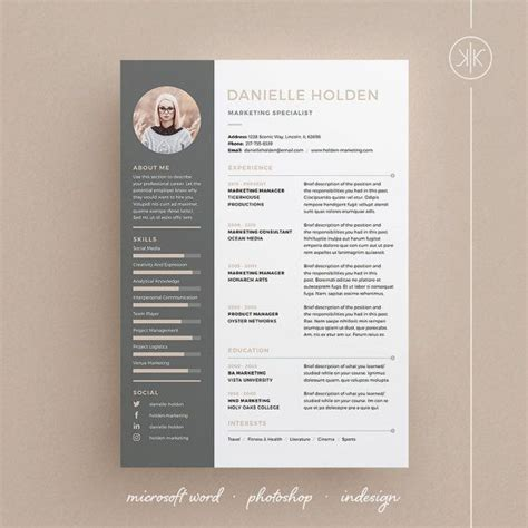 Design Pro Vorlage 220 Ber 1 000 Ideen Zu Lebenslaufvorlage Auf Pinterest Vorlagen Lebenslauf Lebenslauf Und