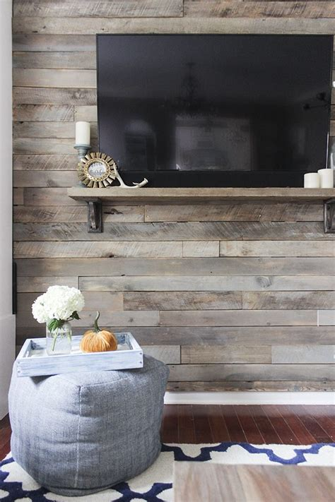pallet wood accent wall for the home pinterest other how to create a wood pallet accent wall ehow