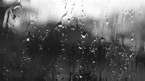 wallpaper black glass 1920x1080 rain on glass desktop pc and mac wallpaper