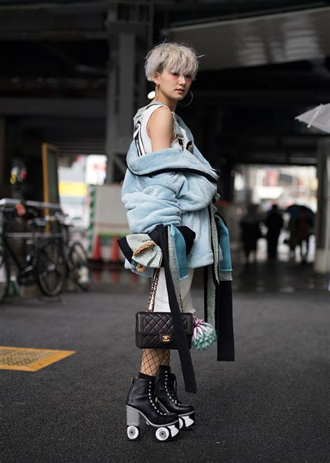 style at 43 43 of the best street style looks at tokyo fashion week