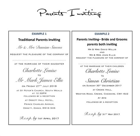 Sle Email Wedding Invitations by Marriage Invitation Email Letter Sle Wedding