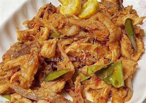 ayam suwir kondanganwajib recook resep