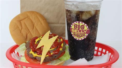Big Belly Burger make your own the flash big belly burgers nerdist