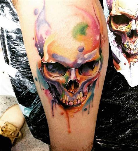 watercolor sugar skull tattoo best 20 skull tattoos ideas on skull