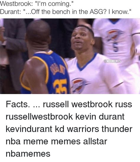 Westbrook Meme - 25 best memes about kevin durant and nba kevin durant