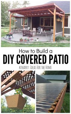 how to build a patio awning great outdoor area with pergola swings and fire pit