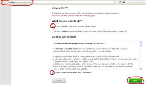 tutorial desain web menggunakan joomla cara instalasi prestashop di localhost pc lokal tutorial