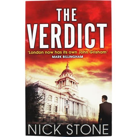 the verdict by nick thriller books at the works