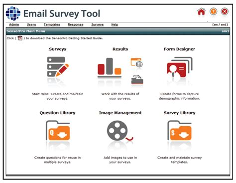 Email Survey - targeted email marketing caigns strongview survey tool net atlantic