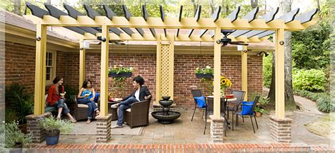 outdoor fans for pergolas outdoor living made in the shade pergola outdoor room