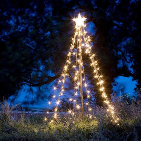 tree lights outdoor light up outdoor tree home decoration tricks