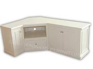 Cream Corner Display Cabinet Tasmanian Oak Timber Corner Low Line Tv Unit Tv Cnr211