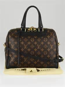 louis vuitton black monogram canvas retiro nm bag yoogi