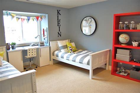 boys room bookshelf gray dresser baby
