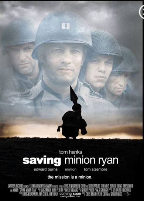 film saving private ryan adalah saving private minion minions pinterest movies ryan