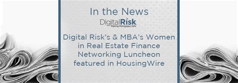 Mba Real Estate Finance by In Real Estate Finance Networking Luncheon