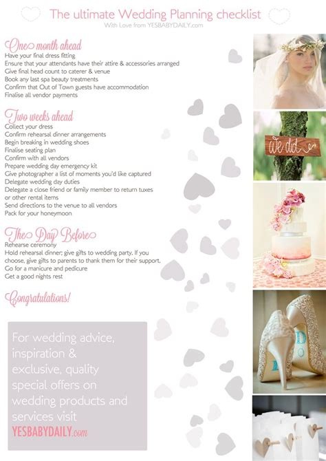 Wedding Checklist Pdf South Africa by 61 Best Plan A Time Images On