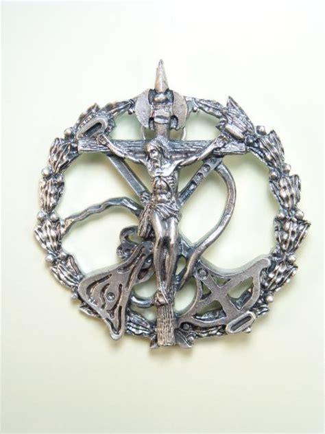 imagenes medallas catolicas medallas religiosas im 193 genes relieve quot cristo de la legion