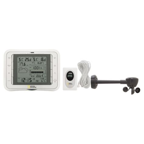 national geographic home weather station 321nc white