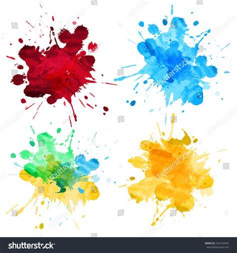 watercolor splash abstract vector high detail stock vector 220144954