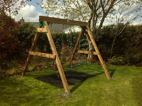 wooden swing parts swings climbing frames play centres tree houses