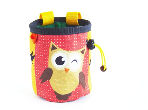 gifts for rock climbers gift for climbers chalk bag rock climbing gifts with animal