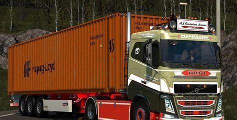 2 1 Semi Sleeper by Volvo Fh Sleeper Truck Truck Simulator 2 Mods