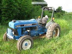 1995 ford tractor 3930