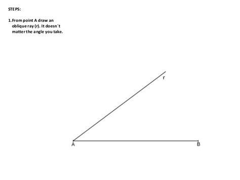 oblique lines oblique line segment