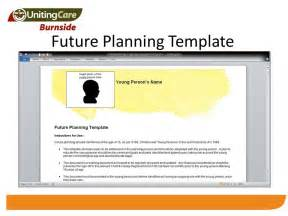 future plan template future planning a new approach to leaving care ppt